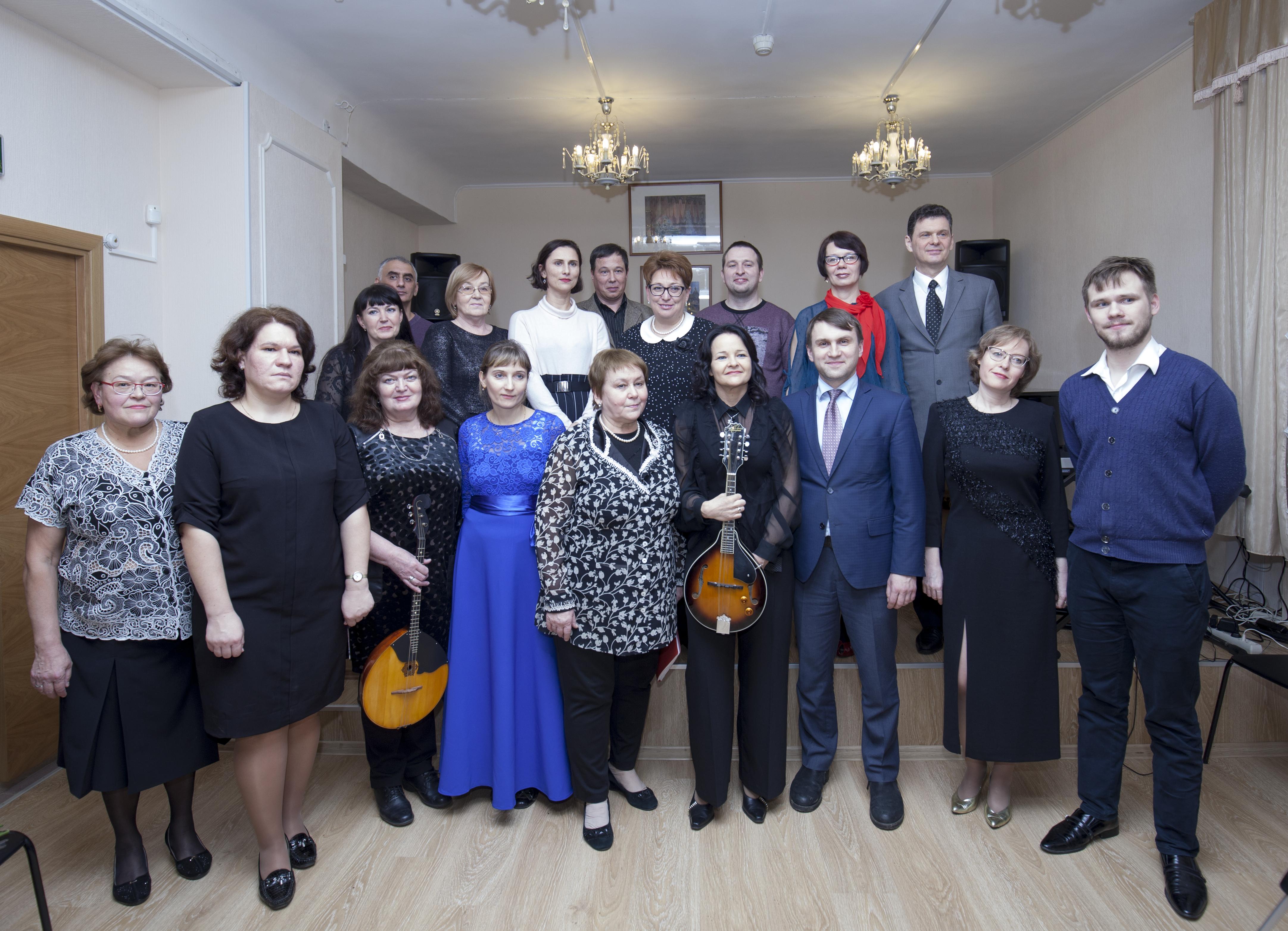 Концерт преподавателей музыкального отделения ДШИ