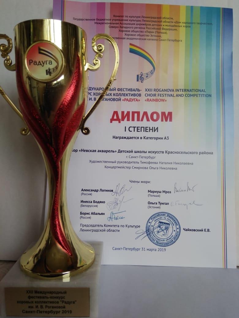 Международный фестиваль-конкурс «Радуга»