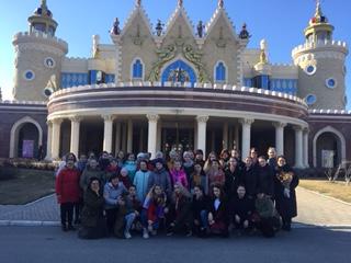 Творческая поездка хора «Невская акварель» в Казань