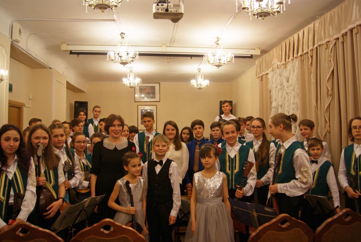 Лекция-концерт «Из истории Великорусского оркестра»