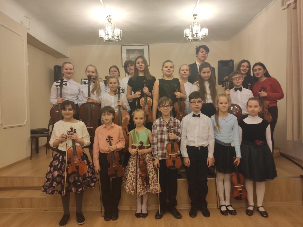 Концерт «Искусство струнного ансамбля», посвященный Дню защитника Отечества