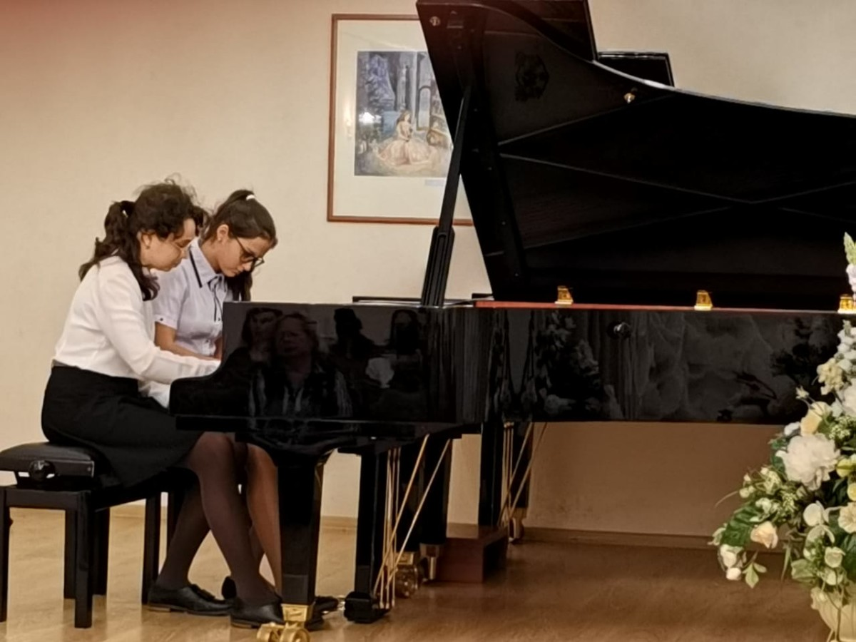 Концерт фортепианных и камерных ансамблей