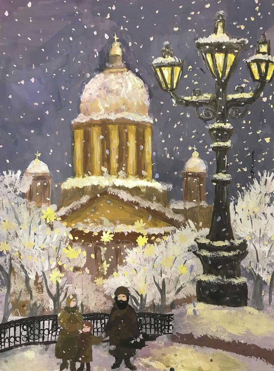 I межрегиональный архитектурно-художественный конкурс «Праздничный Петербург» — «Новогодний Петербург»