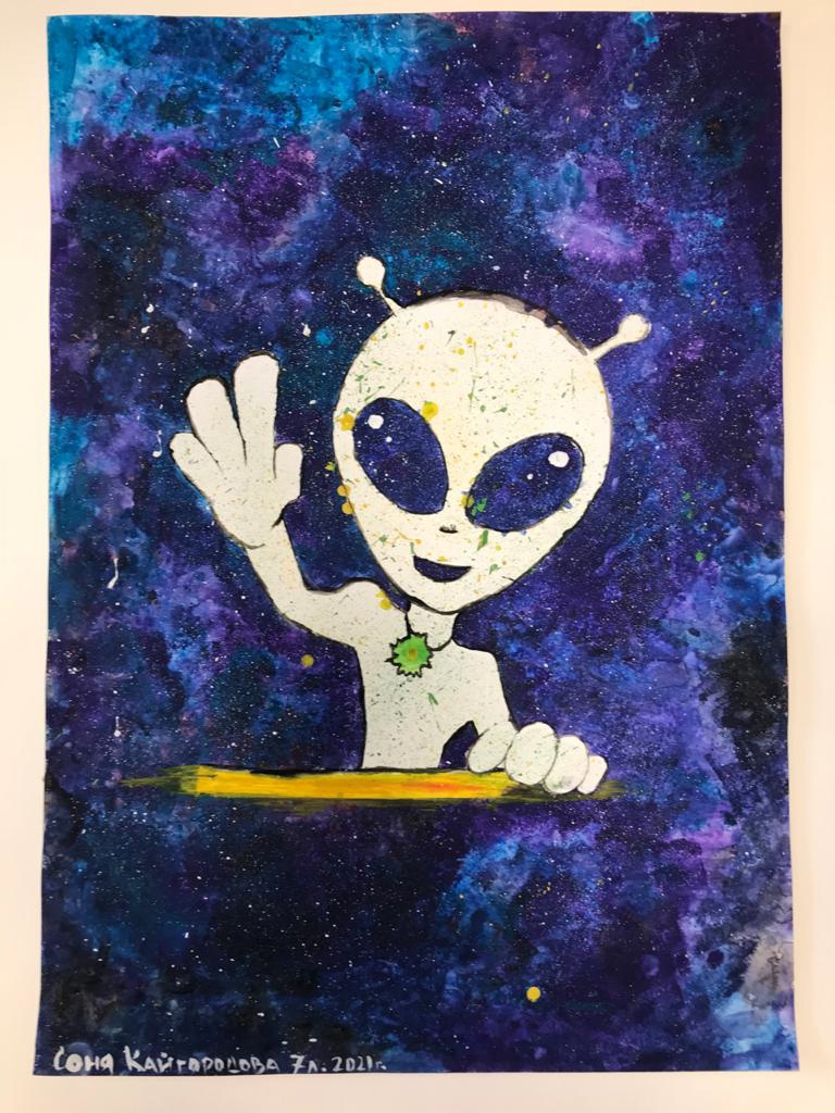 Районный конкурс детского художественного творчества «Тайны космоса», посвященный Дню космонавтики