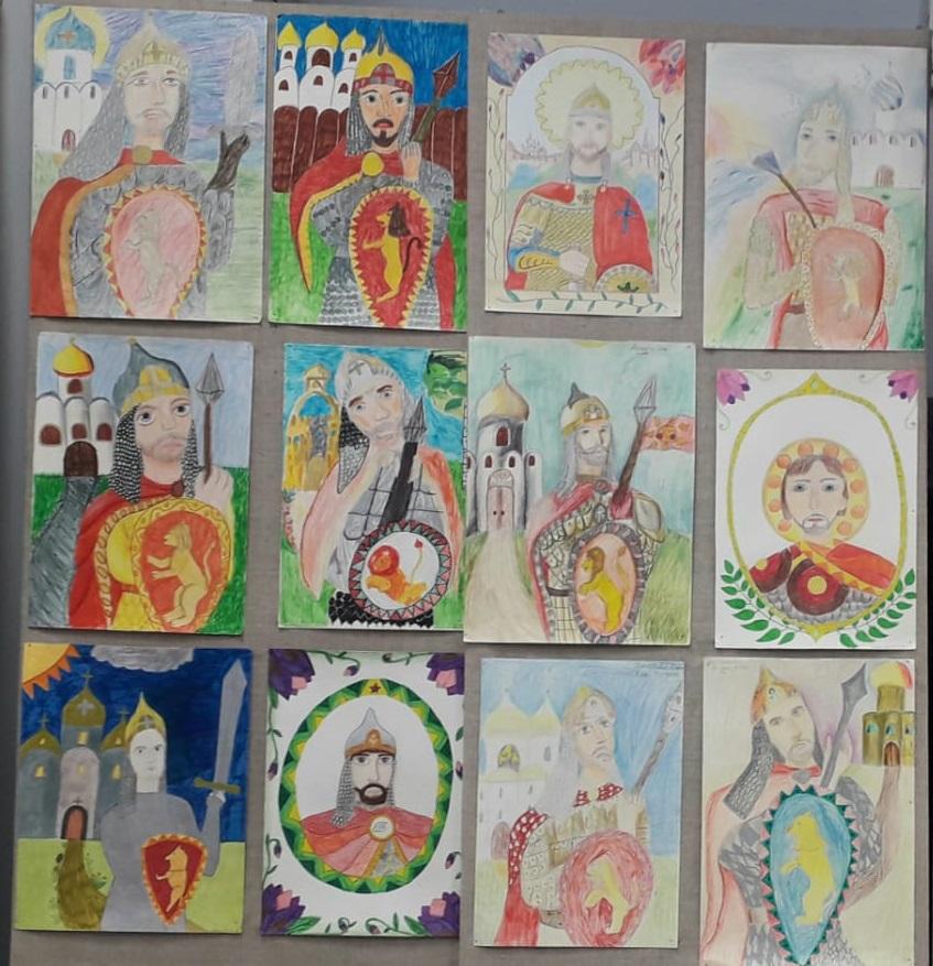 Выставки детского творчества, посвященные Дню защитника Отечества