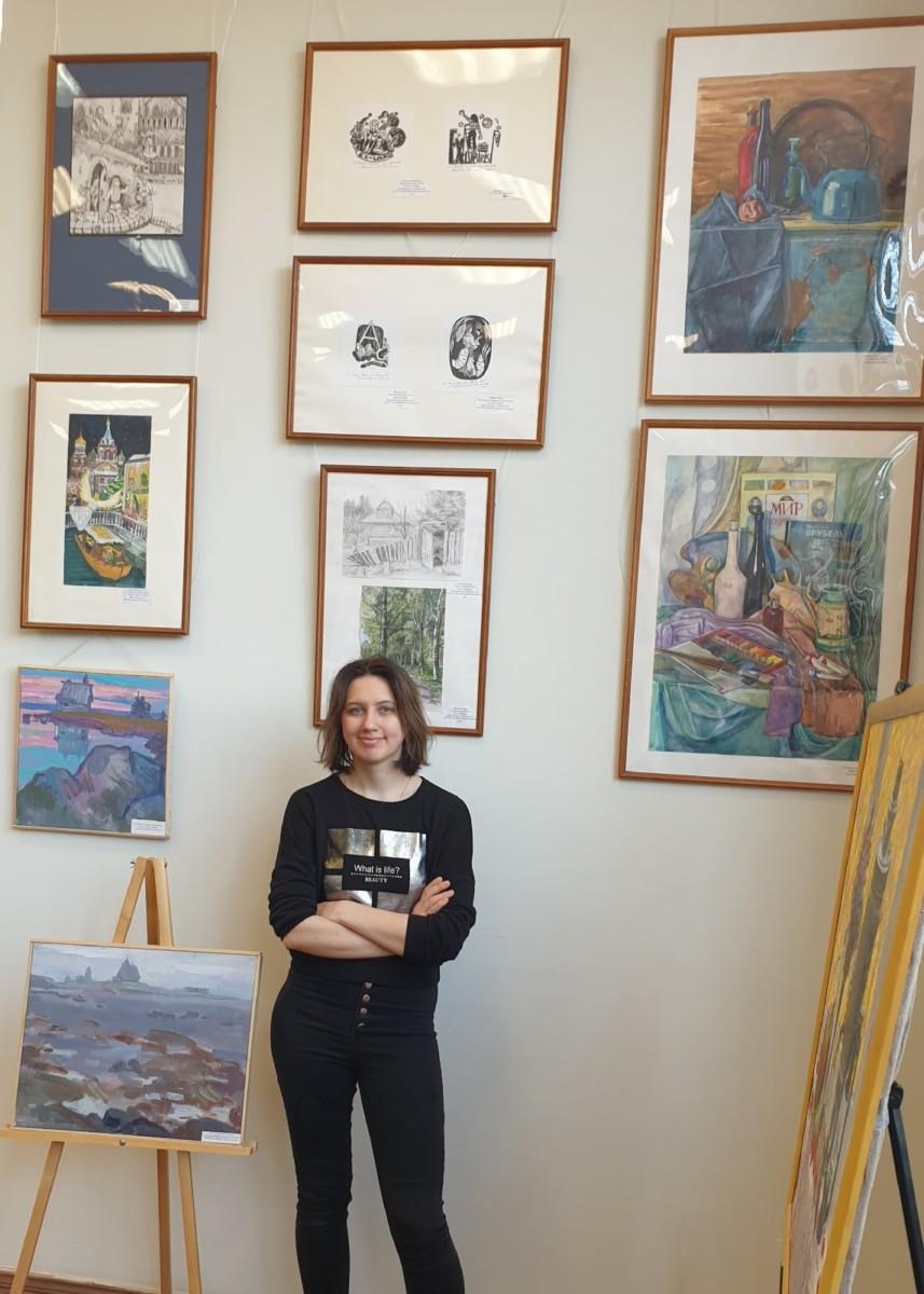 Городская выставка «Учитель-ученик»