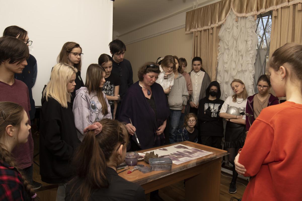 Мастер-класс по акварельной живописи Алины Лесовой