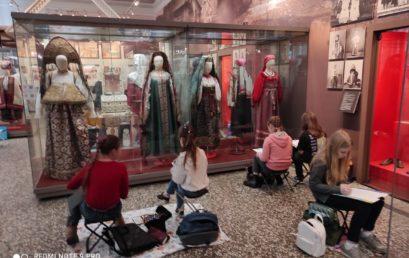 Экскурсия и зарисовки в Российском этнографическом музее