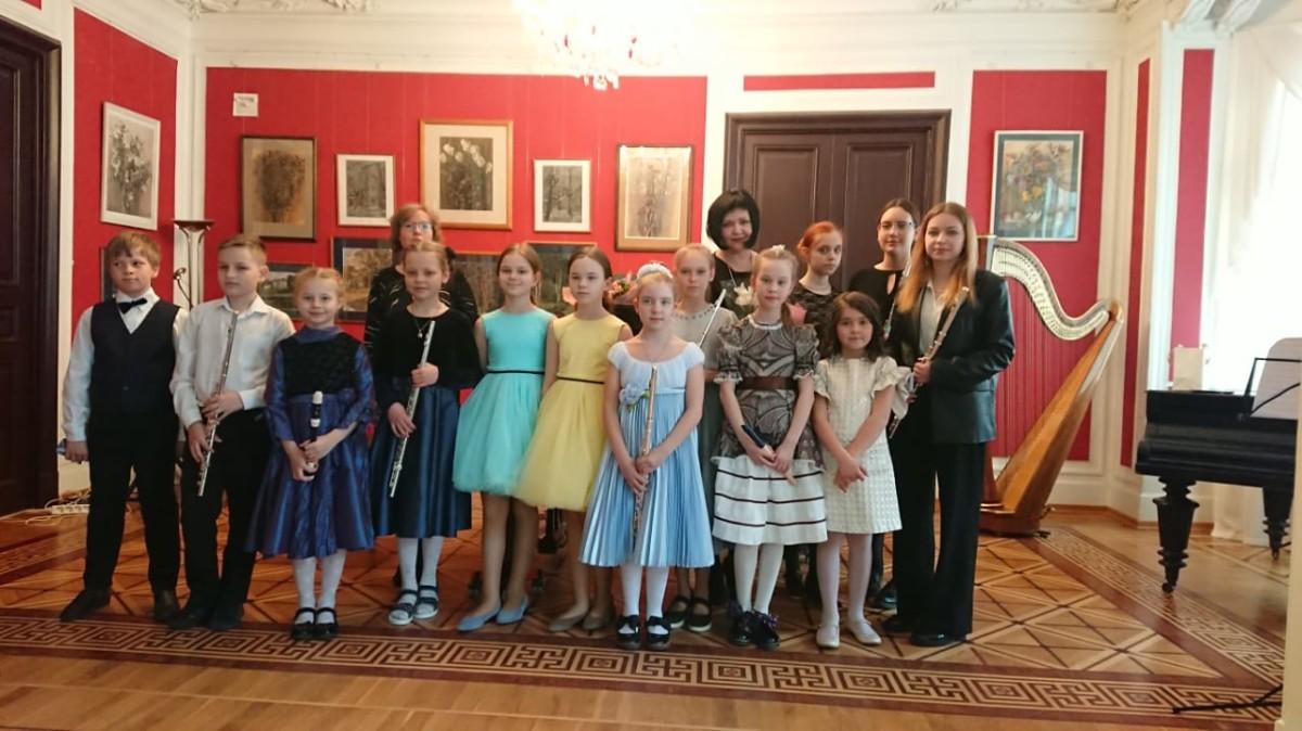 Концерт флейтистов в музее-квартире Л.Н. Бенуа