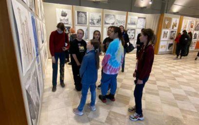 Посещение Санкт-Петербургской академии художеств имени Ильи Репина