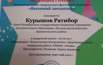 Победители Всероссийских дистанционных конкурсов