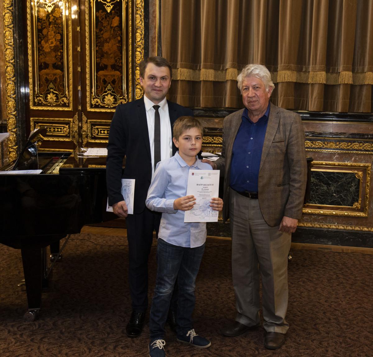 Торжественная церемония закрытия I межрегионального конкурса «Львы на страже Санкт-Петербурга»