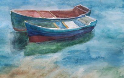 Выставка домашних летних работ учащихся художественного отделения «Творческое лето»