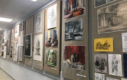 Выставка выпускников «Постижение профессии»